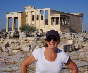 Mrs. VDB in Athens